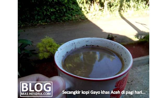 Secangkir Kopi Gayo Khas Aceh - Blog Mas Hendra