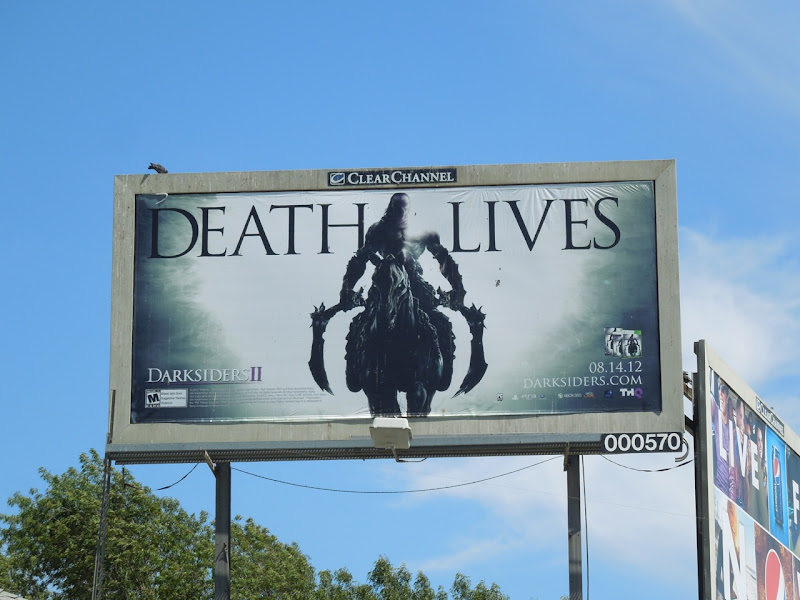 Death Lives Darksiders 2 billboard