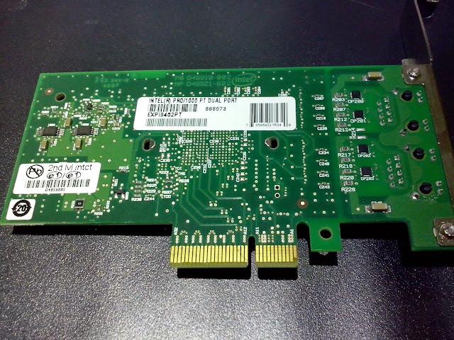 Intel Pro/1000 PT Dual Port