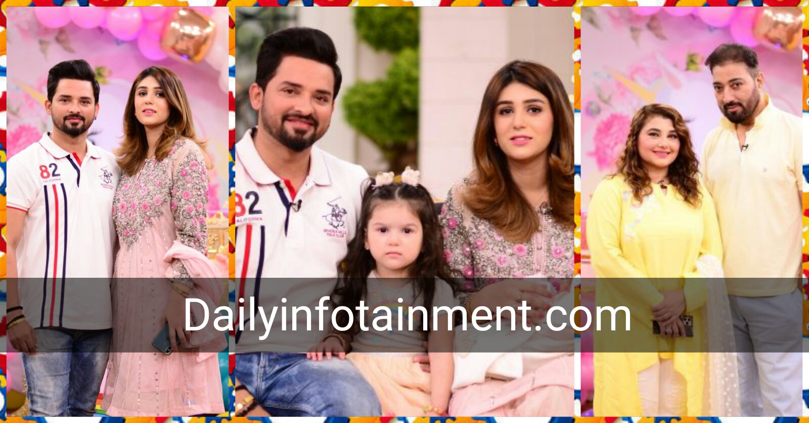 actor Nouman Habib with family