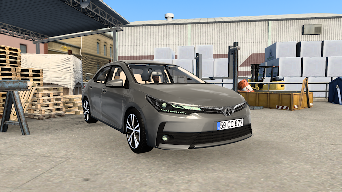 ETS 2 - Toyota Corolla 2018 V1R60 Modu (1.40)