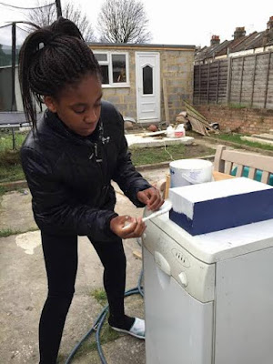 Amazing hand made Cathedral of 12 year old Nigerian British girl