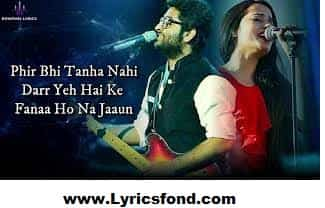 Tere Bina (LYRICS) - Arijit Singh, Aakanksha Sharma