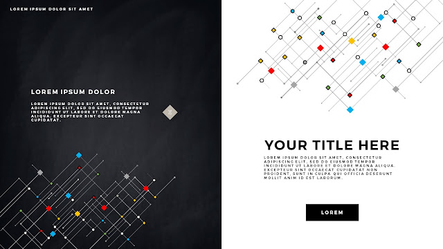 Infographic Linear Technical Title Free PowerPoint Template Slide 4