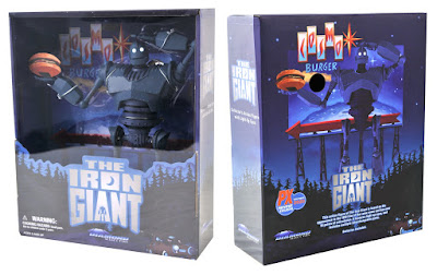 San Diego Comic-Con 2020 Exclusive The Iron Giant Deluxe Action Figure Box Set by Diamond Select Toys