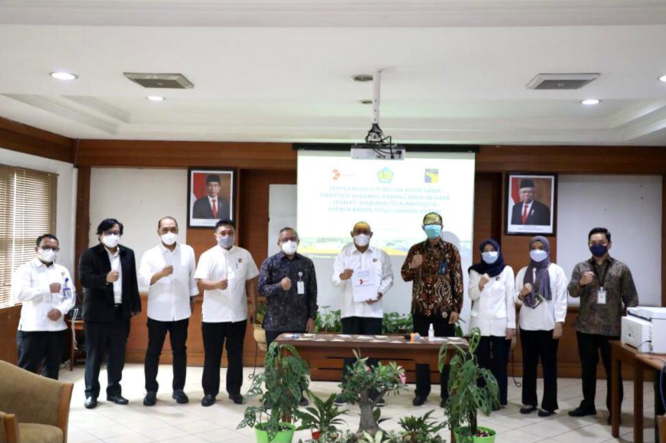 Lindungi BMN, BP Batam Jalin Kerjasama Asuransi BMN dengan PT Asuransi Jasa Indonesia