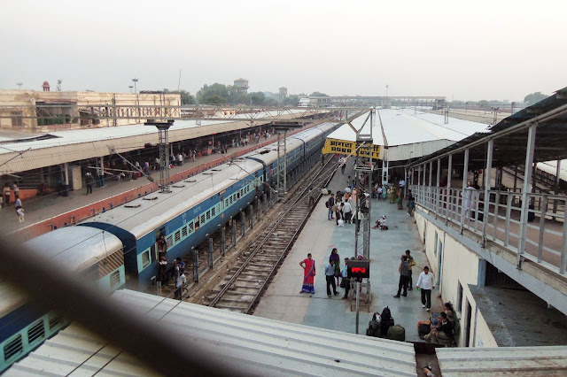 India Agra Train Station Cantt