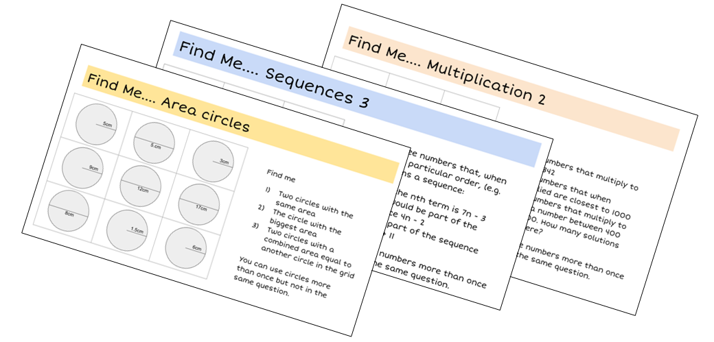Resourceaholic: 5 Maths Gems #83