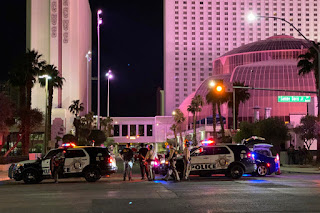 Las Vegas officer shot at protest paralyzed from neck down: family