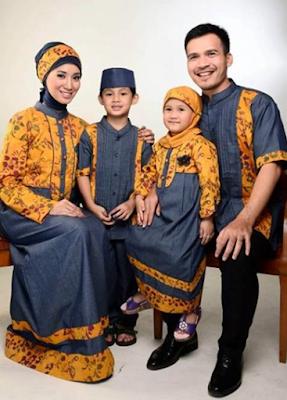 gambar seragam keluarga modern