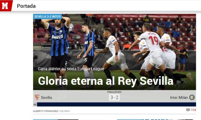 """Sevilla hạ Inter, vô địch Europa League: Báo Italia chỉ mặt """"tội đồ"""" Lukaku 2"""