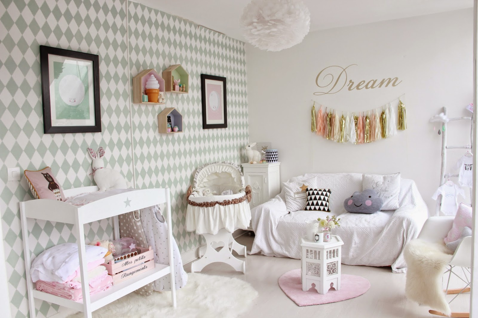 when shabby loves chic deco la chambre de ma panthea. Black Bedroom Furniture Sets. Home Design Ideas