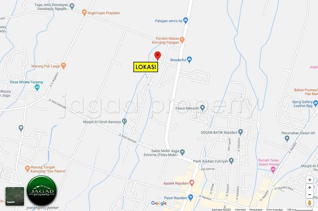 Tanah Bonus Rumah jalan Palagan Km 11