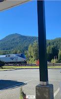 The Amtrak Empire Builder Passes Through Skykomish, Washington