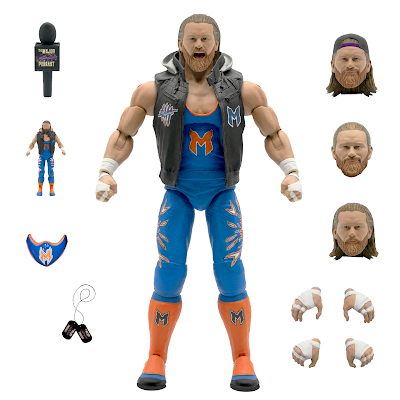 The Major Wrestling Figure Podcast Matt Cardona & Brian Myers Ultimates Deluxe Action Figures by Super7