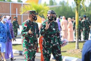 Kunjungan Kerja Dipangkalan TNI AU Anang Busra
