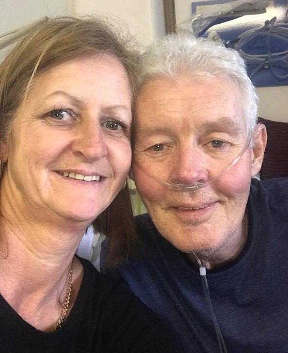 Father, 56, with persistent cough dies 16 DAYS after finding out it was bowel cancer