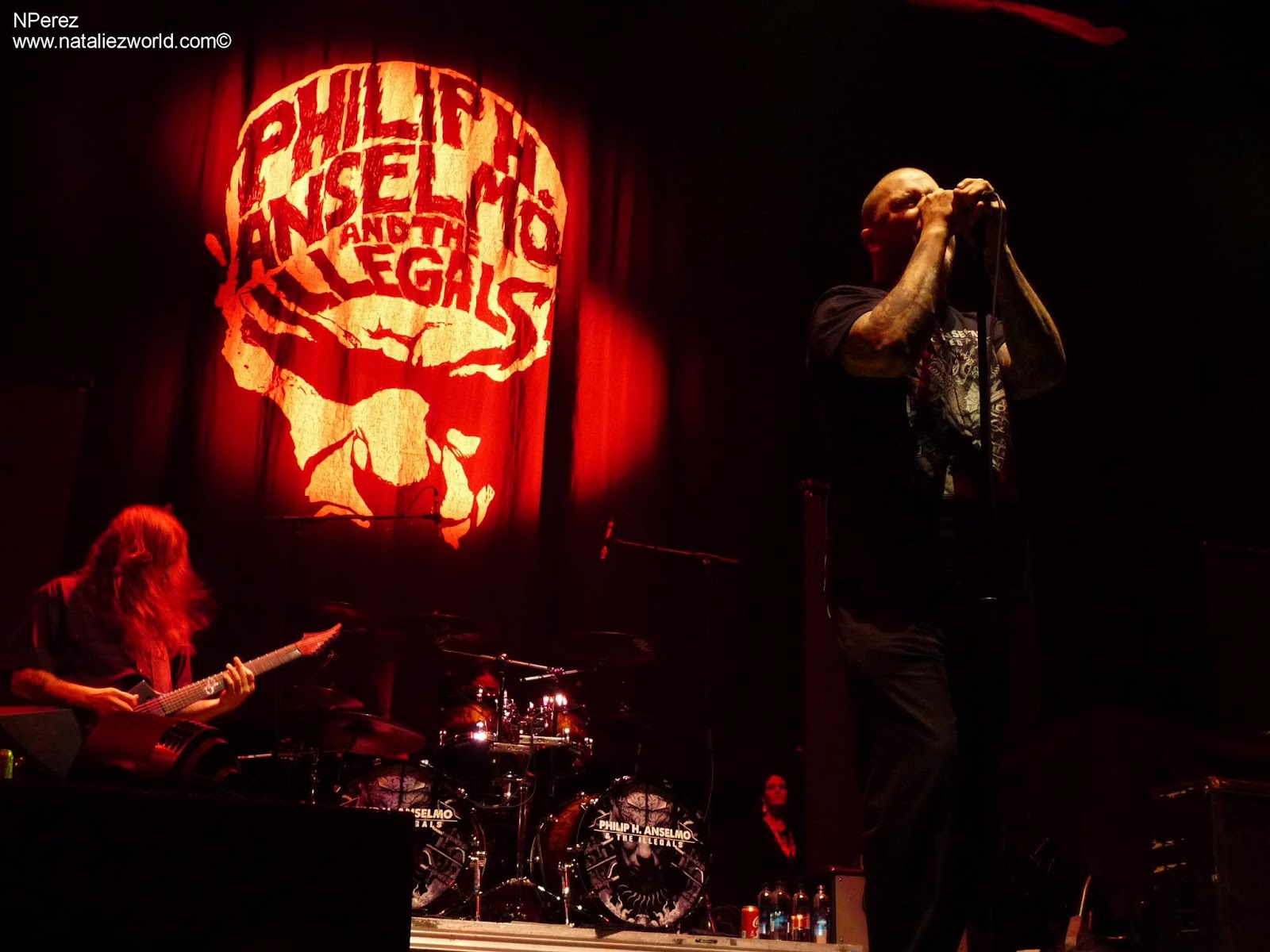 Philip H Anselmo And The Illegals Pantera Tribute The