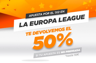 kirolbet.es Final Uefa Europa League Devolucion 50%
