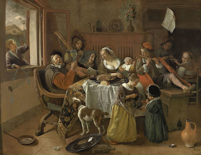 Jan Steen - The merry family,1668.