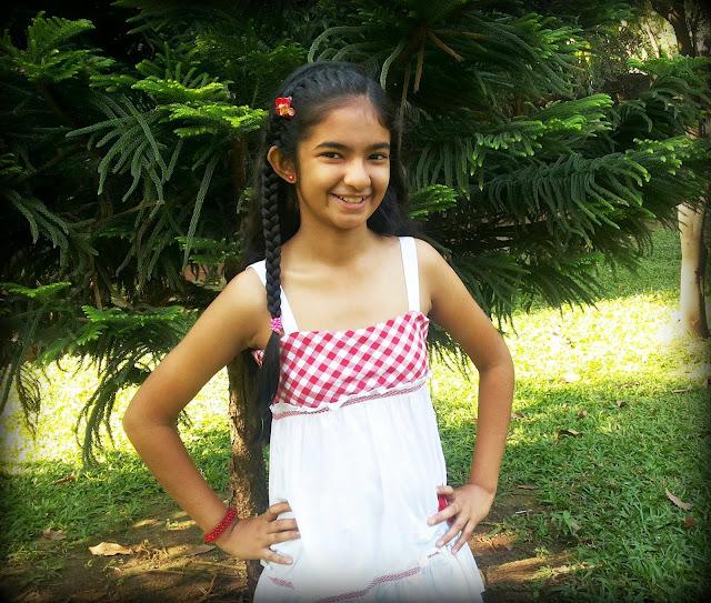 Anushka Sen - Baalveer : Cute Anushka Sen new pics