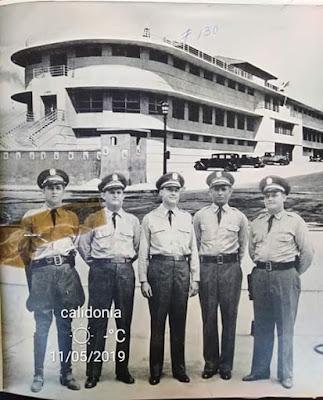 Oficiales de la Antigua Policía Nacional de Panamá