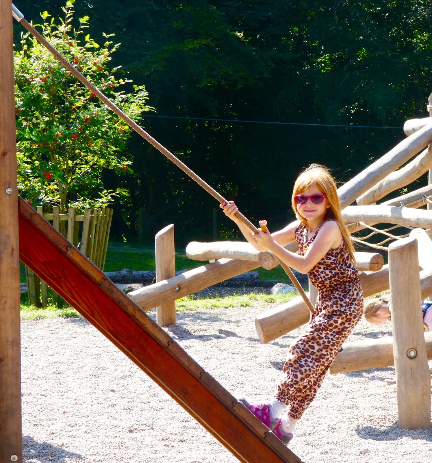 Gibside - A North East National Trust Property that's ideal for Picnics, Adventure Playground fun and beautiful gardens - Strawberry Castle Play Area