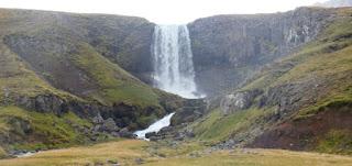 Svödufoss (Svöðufoss). Península de Snaefellsnes (Snæfellsnes). Islandia, Iceland.