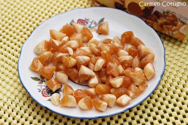 caramelle allo zenzero e miele