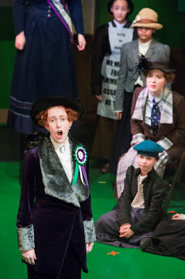 Josie Cooper as Emmeline Pankhurst & ensemble - The Price - W11 Opera