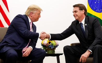 Bolsonaro terá encontro amanhã com Donald Trump