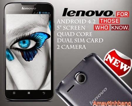 Smartphone giá rẻ lenovo A680