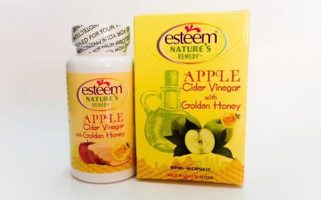 thực phẩm chức năng giảm cân Esteem Apple Cider Vinegar