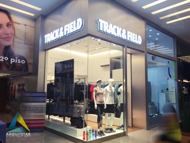 projeto loja moda esporte fachada