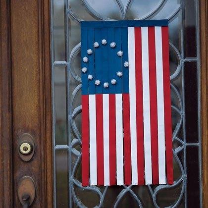Ribbon Door Flag