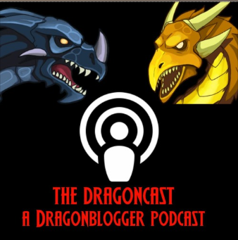The Dragoncast Logo