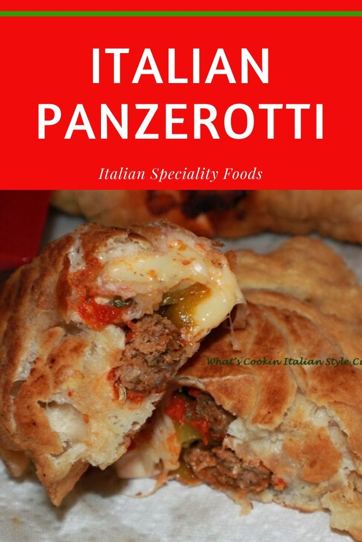 this is a pin for later inside out pizza fried called panzerotti
