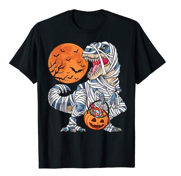 Mummy T-Rex Shirt