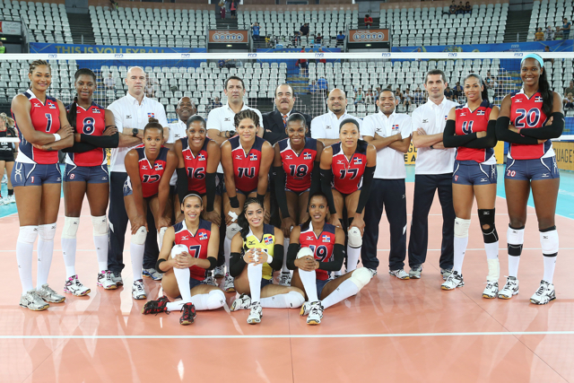 Las Reinas del Caribe debutaran ante Serbia en Mundial de Voleibol