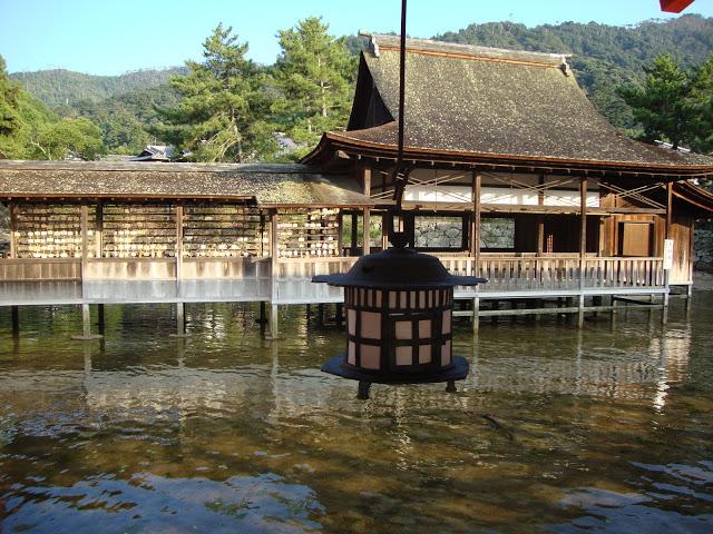 la parte più antica di itsukushima