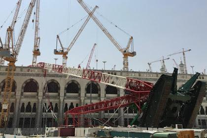Alhamdulillah, Santunan dari Raja Saudi untuk Korban Crane Jatuh di Makkah Cair Rp 86 Miliar