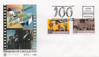 Sobre PDC de los sellos de cine español de Bienvenido Mr Marshall y Salida de misa de doce