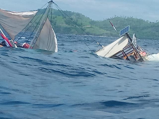 Insiden Kapal Phinisi Terbalik di Labuan Bajo, Wartawan Istana Dikabarkan Selamat