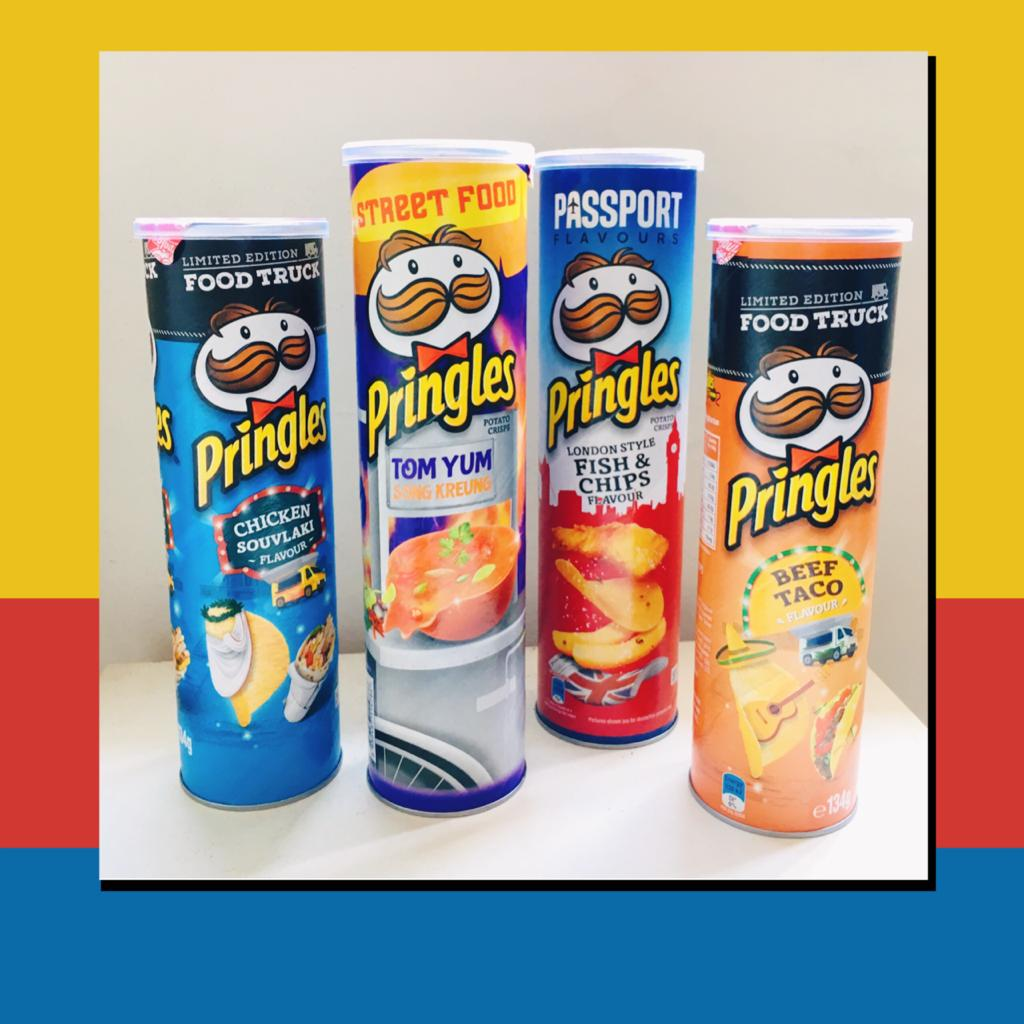 Pringles 4 Funky Flavours Skye Soon