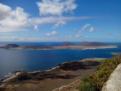 Photo of La Graciosa, a view from Lanzarote