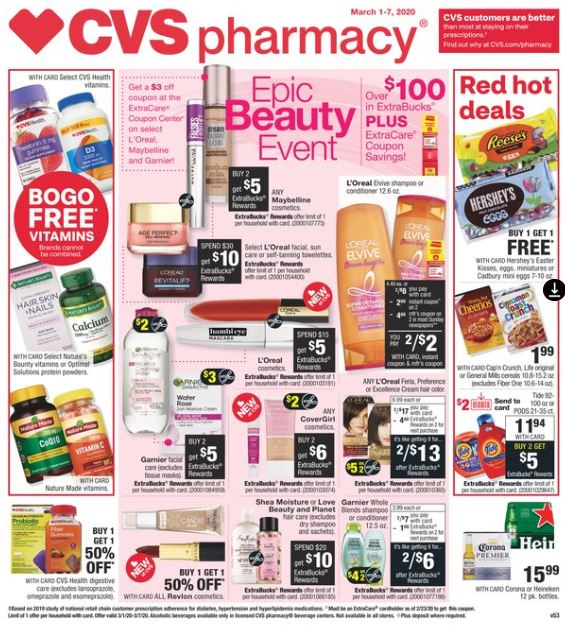 CVS Weekly Ad Preview 3/1-3/7 page-1