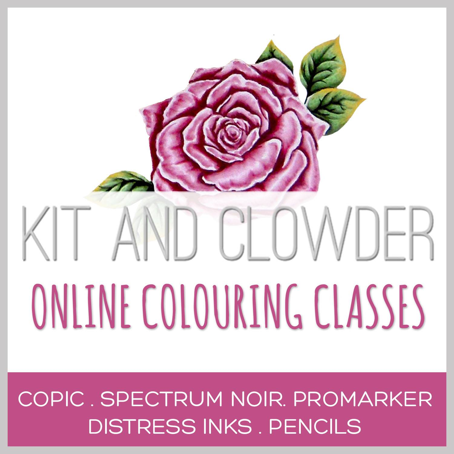 Kit and Clowder Colouring Class