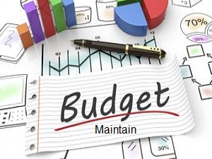 Create and Maintain a Budget