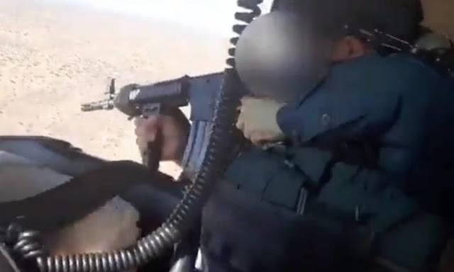 VIDEO.- En Caborca Sonora, desde helicóptero Policías repelieron ataque de Sicarios y los capturaron después de que quisieron tumbarlos