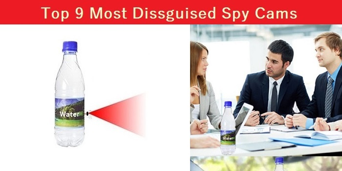 Top 9 Most Disguised Spy Cams